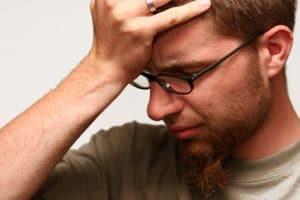 Homme en pleurs