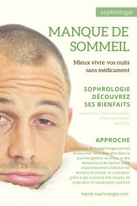 Affiche pour recevoir votre sophronisation et tester la sophrologie pour mieux dormir