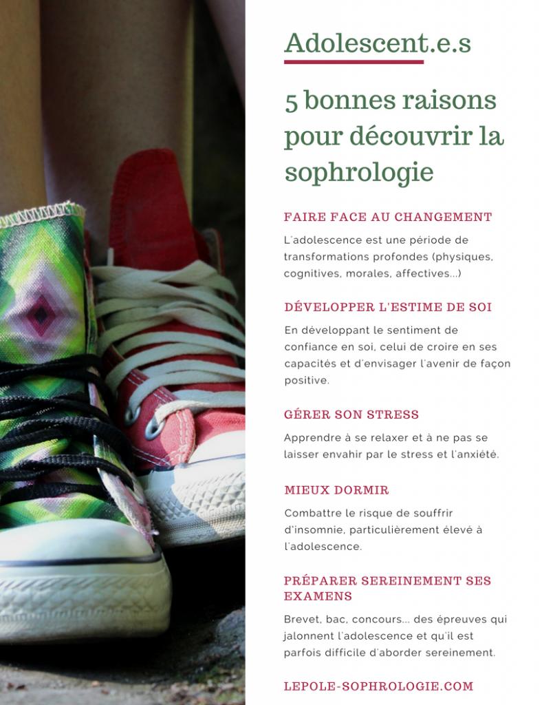 5 bonnes raisons de pratiquer la sophrologie pour les adolescents